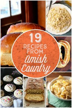 19 Recipes From Amish Country
