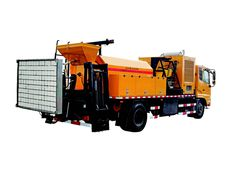Road pavement integrated maintenance vehicles,Repair the high strength of the integrated conservation car