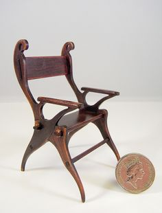 Voysey Swan Chair (12th scale) | Flickr - Photo Sharing!