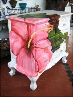 Pintura em móveis...  Fonte: http://arginaseixas.blogspot.com.br/