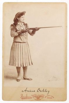 """""""Aim at a high mark and you'll hit it. No, not the first time, nor the second time. Maybe not the third. But keep on aiming and keep on shooting for only practice will make you perfect."""" - Annie Oakley, the first female sharp-shooter."""
