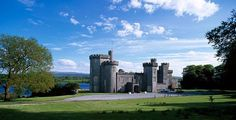 Your Next Vacation: Lough Cutra Castle (Galway, Ireland) from Princess Diaries Dream Vacations, Vacation Spots, Vacation Destinations, Vacation Rentals, The Places Youll Go, Places To See, Ireland Travel, Galway Ireland, Ireland Vacation
