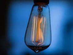 Úsporné LED, žiarovky a žiarivky s nízkou spotrebou energie Led, Light Bulb, Retro, Lighting, Vintage, Home Decor, Decoration Home, Light Fixtures, Room Decor
