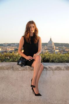 Chiara Mastroianni en Fendi