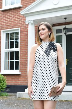Zara Polka Dot Mini Dress