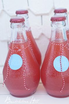 Grapefruit-Limo für die Poolparty