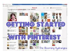 Great Tutorial on getting started with Pinterest {especially if you're new or completely lost}.