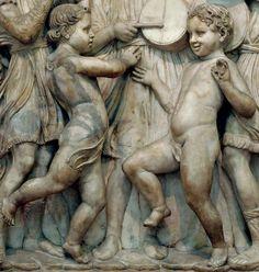 Della Robbia, Cantoria, detail, Florence     #TuscanyAgriturismoGiratola