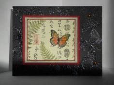 Asian Butterfly collage by philsmom - Cards and Paper Crafts at Splitcoaststampers