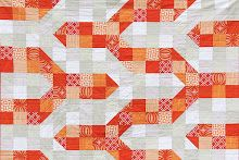 You had me at bonjour: Tutorial: Modern Chevron Baby Quilt (Crib size)