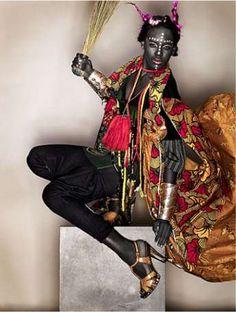 Ebony Tribaltography - Biki John's 'Zula' is a Celebration of Exotic Extremes (GALLERY)
