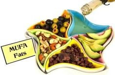 """Mono-Unsaturated Fats (MUFA's): Best sources of dietary fats are found in red meat, whole milk products, nuts and high fat fruits (olives & avocados)... mono-unsaturated fat contents: olive oil (75%)... tallow (beef fat) is 50%... & lard is about 40% (better than some """"polyunsaturated"""" vegetable oils)...  other oil sources are macadamia nut, grapeseed oil, peanut oil, sesame oil, popcorn, almond oil, sunflower oil, hemp oil, tea-oil Camellia, & avocado oil..."""