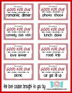 Love (and a little bit naughty) Coupon Book Valentines Gift - Free Download - www.candiedchaos.com