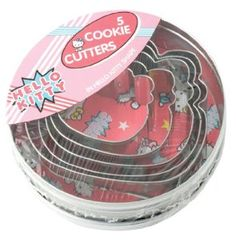 Hello Kitty Stainless Steel Cookie Cutter - Set Of 5 from Hello Kitty - Cookie Cutters £ 4.75