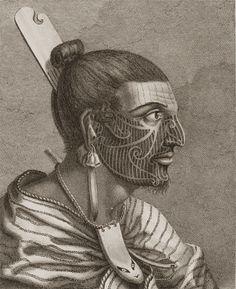 Maori Chief, 1777