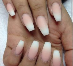 Ombre French #mani #nails