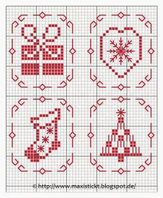 Cross stitch *<3* Point de croix Maxistickt                                                                                                                                                                                 More