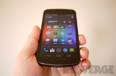 Galaxy Nexus...my next phone.