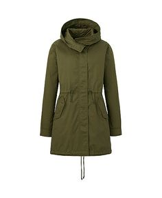 Women's Military Parka in Olive Green (UNIQLO)