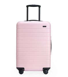 Away Bigger Carry-On Carry On Suitcase, Carry On Luggage, Carry On Bag, Travel Luggage, Travel Bags, Girls Luggage, Luggage Sets, Travel Ideas, Hotel New York