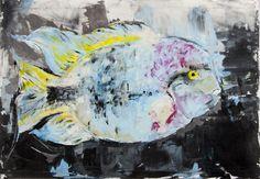 Rania acrilic on canvas 100x70
