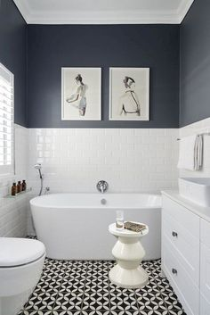 Thrill Your Site visitors with These 30 Cute Half-Bathroom Styles Fifty percent . - Thrill Your Site visitors with These 30 Cute Half-Bathroom Styles Fifty percent Washroom Ideas-Your - Bathroom Styling, Bathroom Interior Design, New Bathroom Designs, Ideas Baños, Decor Ideas, Tile Ideas, Bad Styling, Bathroom Renos, Bathroom Remodeling