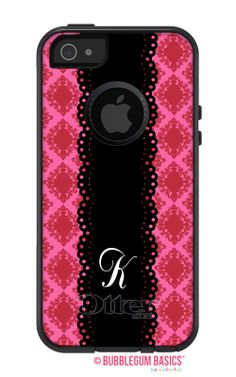 Damask Doily Initial #Monogram #OTTERBOX Commuter iPhone 5 5S 5C 4/4S #Case by iselltshirts, $59.90