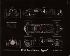 1936 Auto Union, Type C