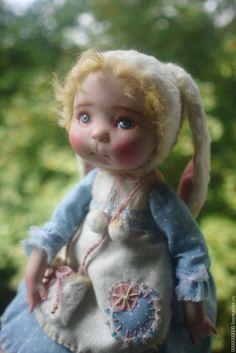 Купить Маша - коллекционная кукла, коллекционные игрушки, коллекционные куклы…
