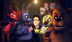 Markiplier is the King of Five Nights at Freddy's! by rydi1689.deviantart.com on @DeviantArt