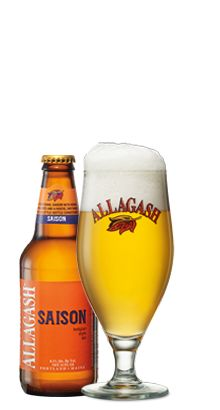 """Allagash Saison Their first new year round beer introduced by Allagash in 7 years. A must on my """"need to try"""" list.  Also on my """"need to visit"""" list. Oh I think I just came up with an idea for another board!!!!"""