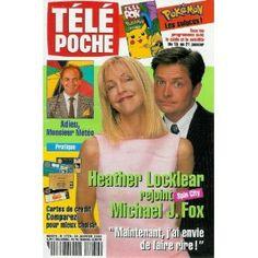 """Heather Locklear rejoint Michael J. Fox Spin City : """"Maintenant j'ai envie de faire rire !"""", dans Télé Poche n°1770 du 10/01/2000 [couverture isolée et article mis en vente par Presse-Mémoire]"""