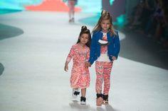 Fashion show Supertrash girls Amsterdam.