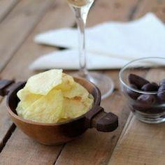 Homemade Fat Free Potato Chips HealthyAperture.com