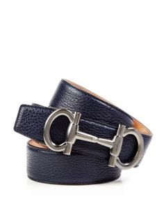 best authentic c95fa d6844 Salvatore Ferragamo Muflone Leather Belt with Parigi Buckle -  Bloomingdales Exclusive  Bloomingdales Leather Belts,