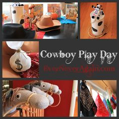 Fun play date idea...cowboy theme