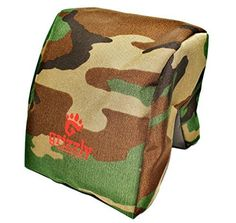 Grizzly Camera Bean Bag LARGEFOREST CAMOUFLAGE Photography  Video Bean Bag Camera Support Camera Sandbag Spotting Scope Support Birders Bean Bag Tripod African Safari Photography Tours ** Read more reviews of the product by visiting the link on the image.