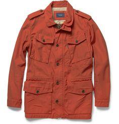 Facconable Cotton Twill Field Jacket