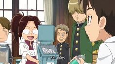 Attack on Titan: Junior High - How to summon Levi on Make A Gif