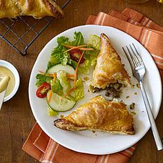 Pennsylvania Dutch Meat Pies | MyRecipes.com  This could be good. Maybe use cole slaw mix instead of cabbage...