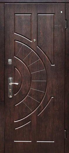 I love simple and pretty front doors. In a couple months when the weather warms up, we are replacing our front door and . Wooden Front Door Design, Wood Front Doors, Wooden Doors, Bedroom Door Design, Door Design Interior, Door Frame Molding, Traditional Front Doors, Modern Exterior Doors, Wardrobe Door Designs