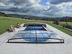 Swimming Pool Enclosures, Swimming Pools, Gardens, Corona, Swiming Pool, Pools, Tuin, House Gardens, Garden