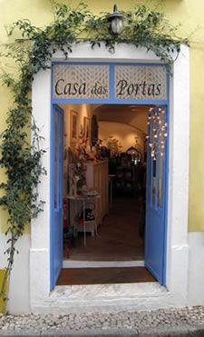 Casa das Portas - lovely shop in Tavira, Portugal Algarve, Tavira Portugal, Home Catering, Sea Activities, Portugal Holidays, Shop Facade, Restaurant Concept, Family Roots, Lovely Shop