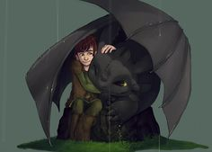 Toothless the Dragon Fan Art: ★ Toothless & Hiccup ☆ Httyd Dragons, Dreamworks Dragons, Cute Dragons, Disney And Dreamworks, Fanart, Jack Frost, Dragon Movies, Dragon Tales, Hiccup And Toothless