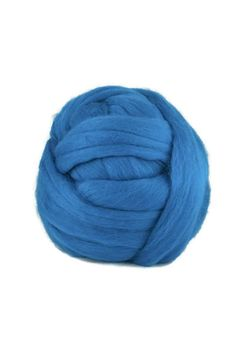 Superfine merino wool roving 19 microns,Color: Bay
