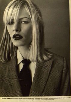 emma balfour by walter chin for l'uomo vogue 1996.