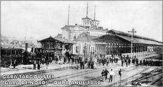 Bucureşti Nord, fosta gara Târgoviştei- Old Postcard-Romania