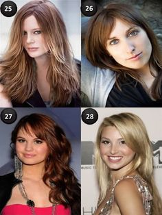Long Hairstyles With Side Fringe And Layers For Long Hair