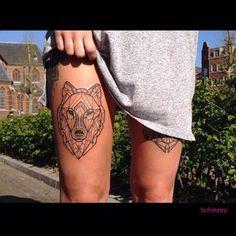 Afim de ousar? Selecionamos 100 inspirações para te dar o empurrãozinho que faltava para ir fazer a sua tatuagem na coxa!