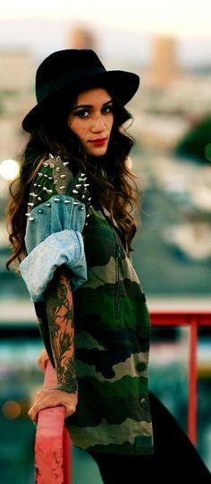 Combo Punk Hippie Style <3